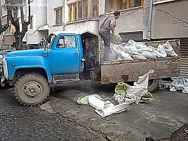 Чистене на мазета, тавани, дворове с превоз в София