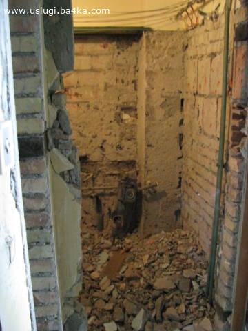 Почистване на мазета, тавани в София. Извозване на строителни отпадъци и битови боклуци от апартамент, дворове, гаражи,